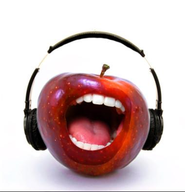 яблоко со слоями