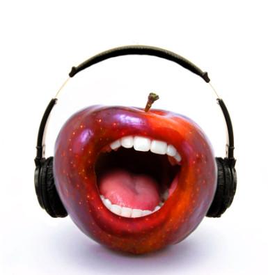 промежуточный результат с яблоком