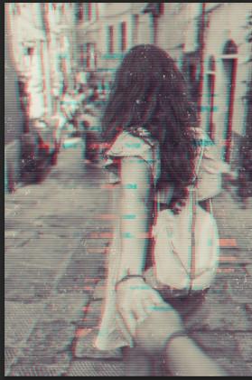 эффект на фото