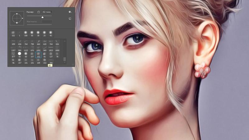 11 кистей для рисования кожи в фотошопе