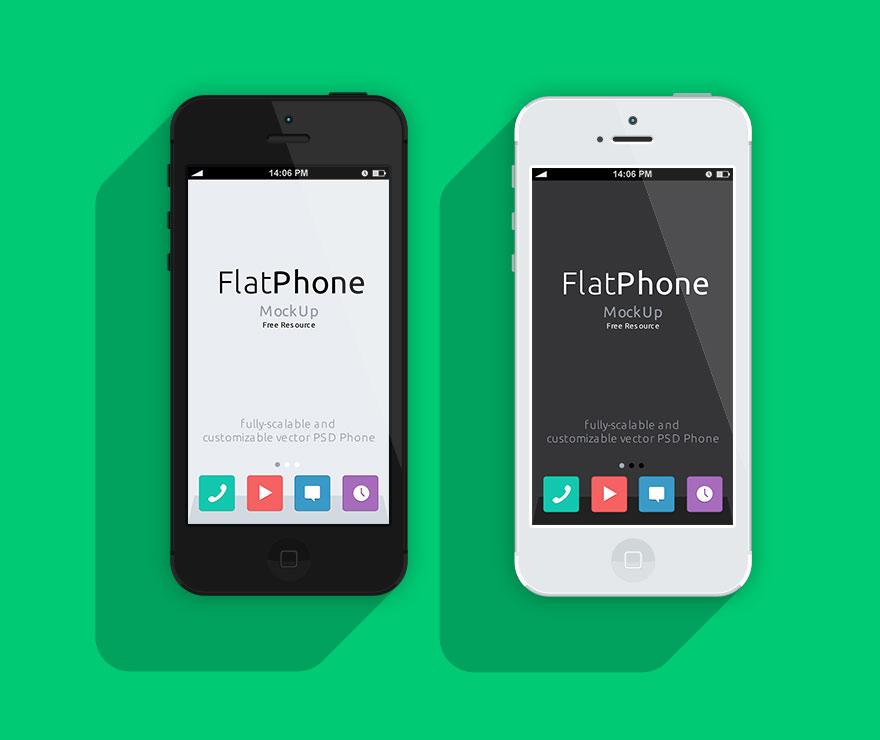 iphone 5 psd mockup шаблон для фотошопа