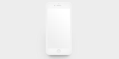 Скачать шаблон PSD iphone 7