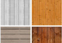 Набор текстур деревянных поверхностей