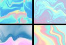 Набор текстур для имитации голографического эффекта
