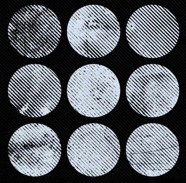 Набор текстур «Линии в полутонах»