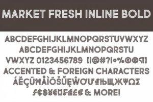 Шрифт Market Fresh Кириллица