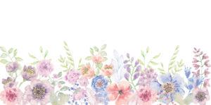 Набор клипарта, текстур и фонов «Цветы»
