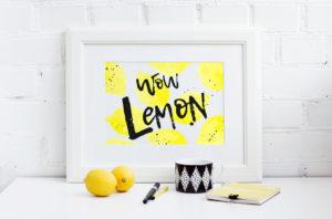 Шрифт Lemon Tuesday Кириллица