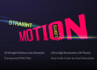 Набор оверлеев «В движении (Motion)»