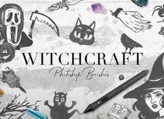 Набор кисточек «Ведьма»