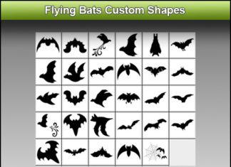 Набор фигур «Летучие мыши»