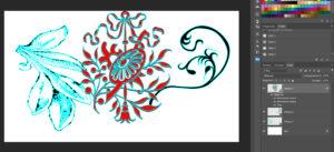 Набор фигур «Растительные элементы»