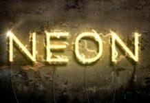 Стиль слоя «Неон»