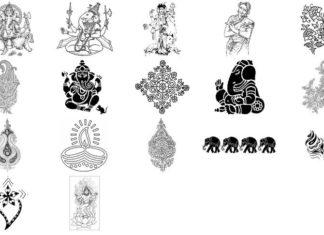 Набор кистей «Индия»