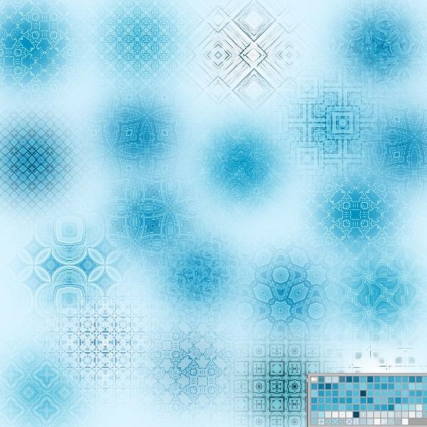 Набор текстур «Творческие линии»