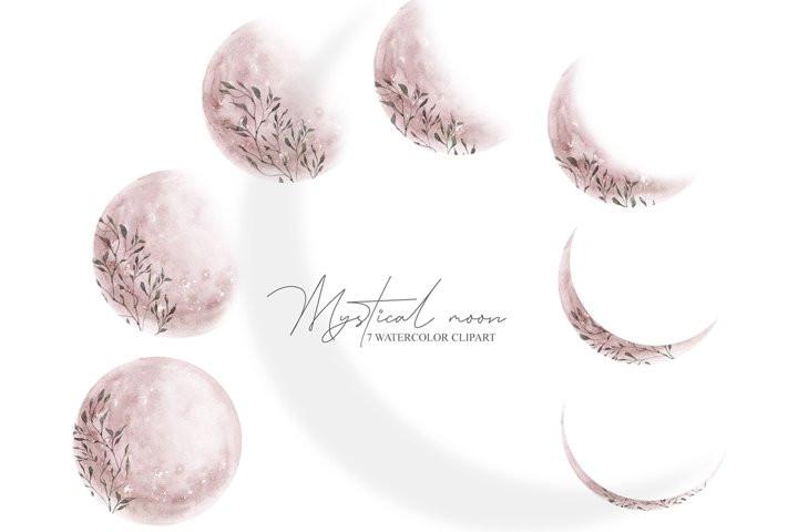Клипарт «Мистическая луна»