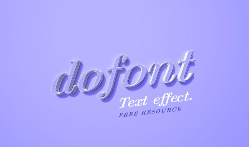 Стиль текста «Dofont»