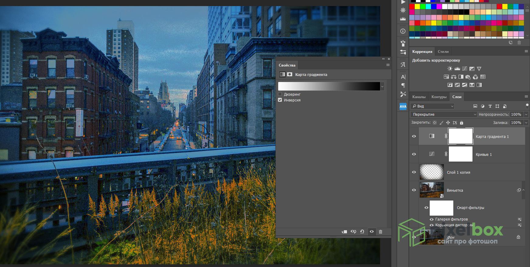 Ломо-эффект в Photoshop: что такое, как создать