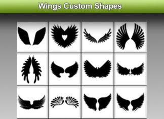 Набор фигур «Крылья»