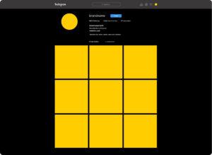 PSD-шаблон Instagram 2020