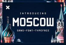 Шрифт Moscow Латиница
