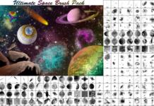Набор кистей «Космос»