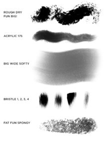 Набор кистей «Kyle's Photoshop Brush Ultimate Megapack»