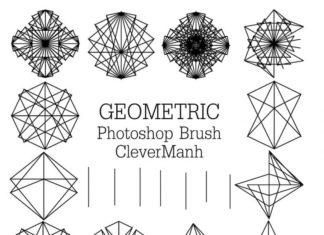 Набор кистей «Геометрические фигуры»