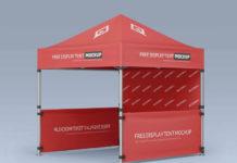 PSD-шаблон «Палатка»
