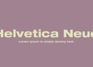 Шрифт Helvetica Neue Кириллица