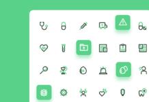 Набор иконок «Медицина»