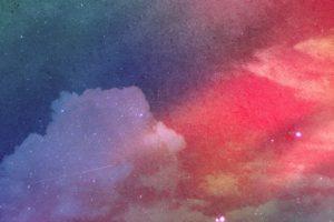 Набор фонов «Разноцветный космос»