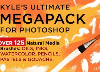Набор кистей «Kyle's Photoshop Brush Ultimate Megapack»