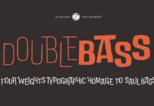 Шрифт DoubleBass Кириллица