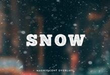 Набор оверлеев «Снегопад»