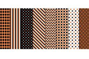 Набор текстур «Оранжевое и черно-белое»