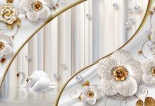 Набор фонов и элемента «Жемчужная нежность»