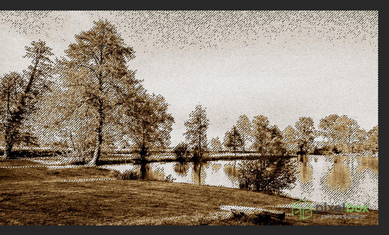 Как создать эффект литографии в Photoshop