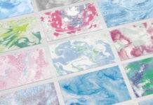 Набор текстур «Мраморные краски»