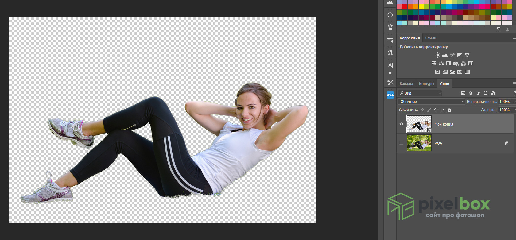 Как использовать марионеточную деформацию в Photoshop для преображения композиции