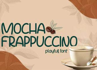 Шрифт Mocha Frappuccino Латиница
