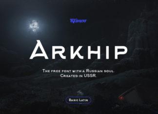 Шрифт Arkhip Кириллица