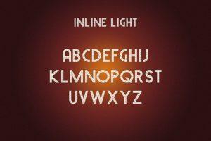 Шрифт Neon Lights Латиница