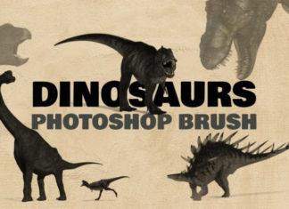 Набор кистей «Динозавры»