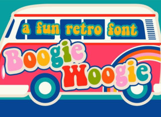 Шрифт Boogie Woogie Латиница