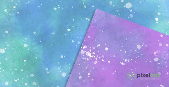Набор текстур «Акварельная фантазия»