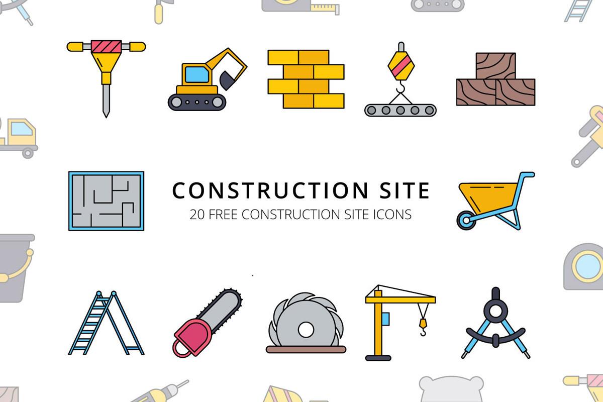 Набор иконок «Строительство»