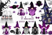 Клипарт «Мир Хеллоуина»