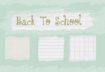 Набор узоров «Снова в школу»