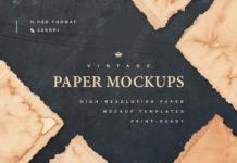 Набор текстур «Винтажная бумага»